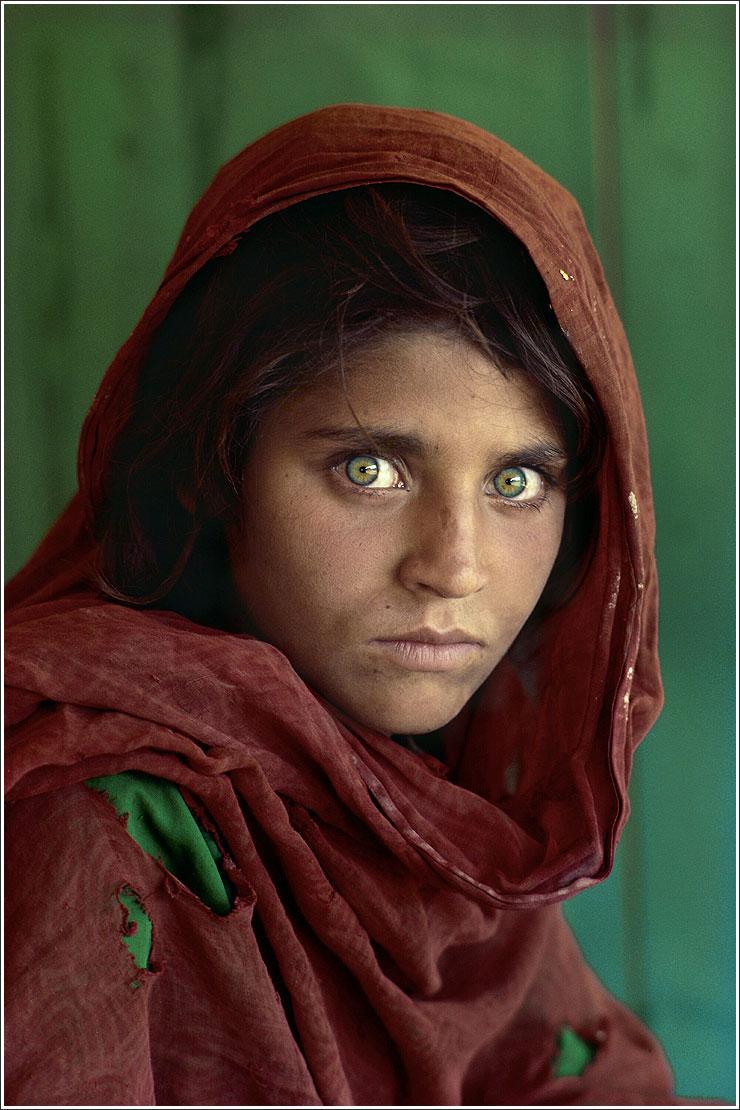 Tha Afghan' girl